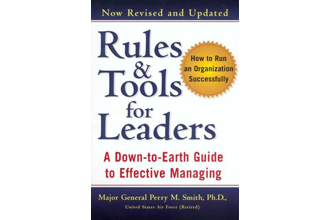 Rules &amp; Tools for Leaders