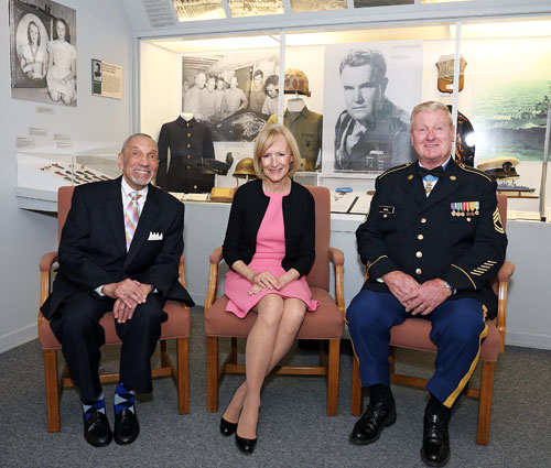 The 2016 Honorees: Dr. Julius S. Scott; Judy Woodruff and SFC (Ret) Sammy L. Davis